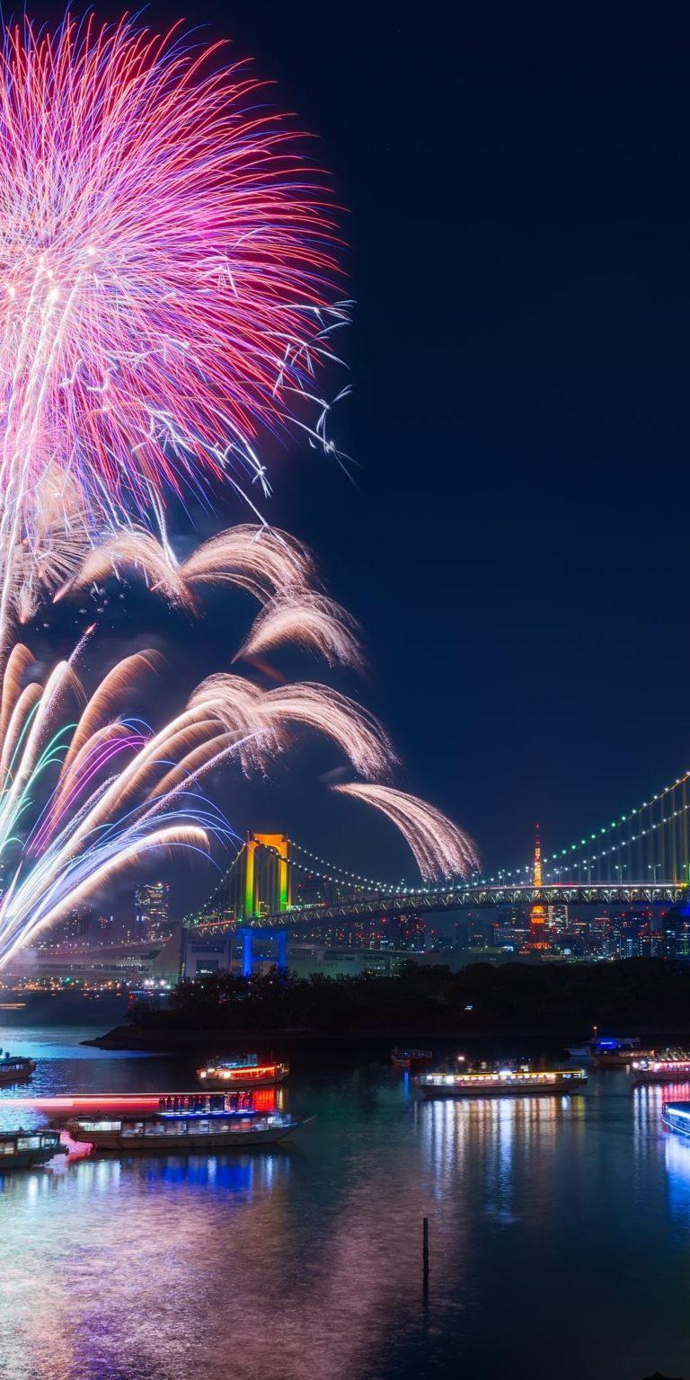 Fireworks Wallpaper 1080x2160 768x1536