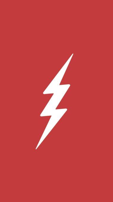 Flash Logo Minimalism Ad Wallpaper 1080x1920 380x676