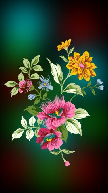 Flowers01 Wallpaper 1080x1920 380x676