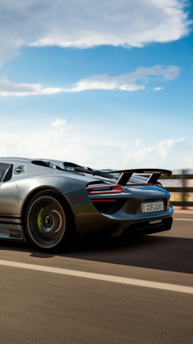 Forza Horizon 3 Porsche 918 Spyder Be Wallpaper 1080x1920 380x676