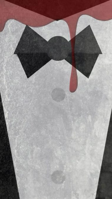 Gentleman Blood Minimalism Wide Wallpaper 1080x1920 380x676