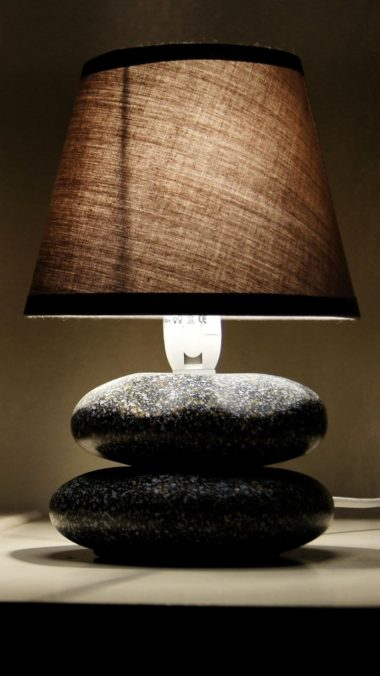 Glowing Lamp In Room Wallpaper 720x1280 380x676
