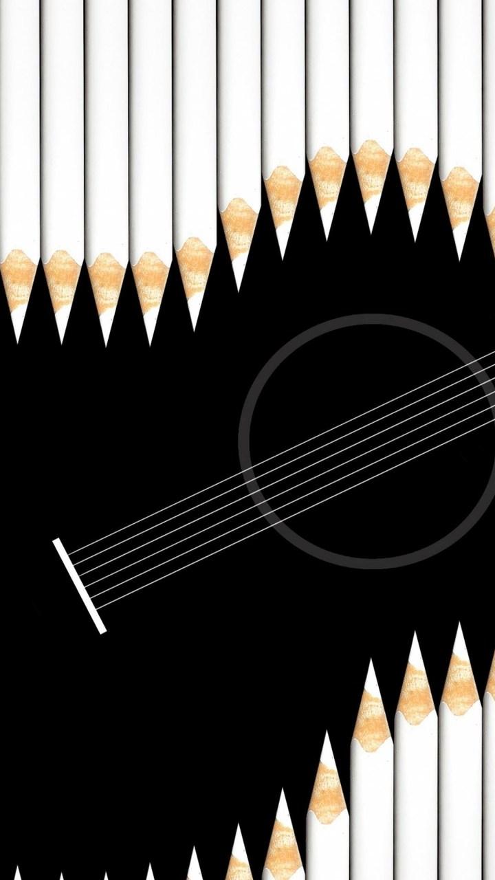 Guitar Art Wallpaper 720x1280