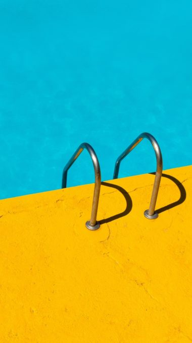Handrail Swimming Pool Water Minimalism Wallpaper 720x1280 380x676