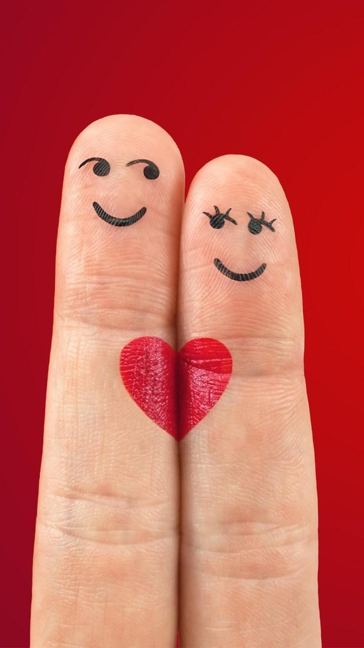 Heart Fingers Wallpaper 720x1280