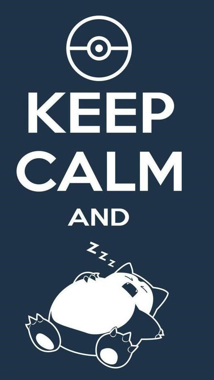 Keep Calm And Sleep Wallpaper 720x1280