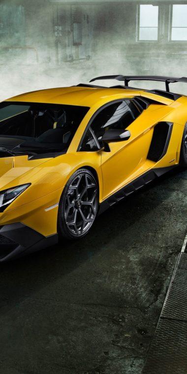 Lamborghini Aventador Wallpaper 1080x2160 380x760