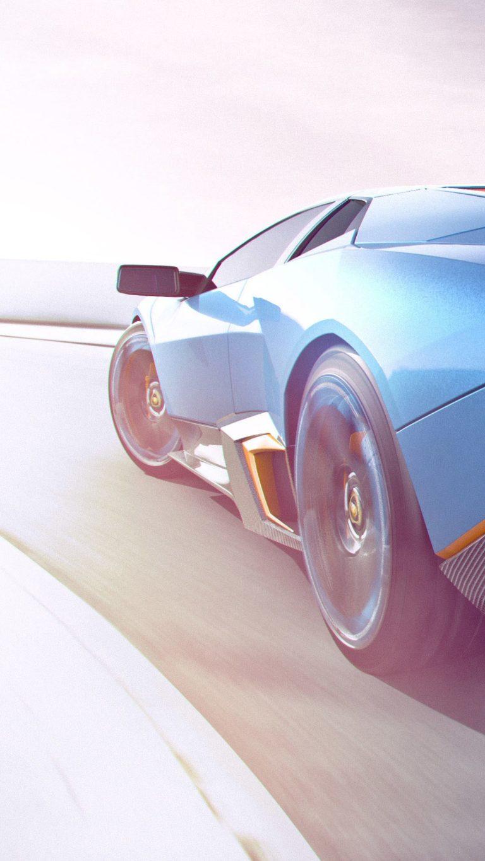 Lamborghini Cgi Artwork Qhd Wallpaper 1080x1920 768x1365