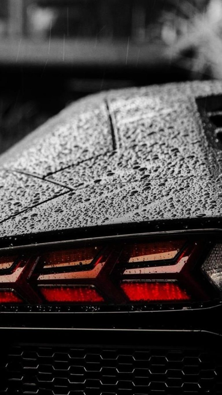 Lamborghini Tail Light Wallpaper 1080x1920 768x1365