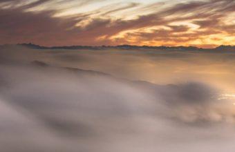 Landscape Fog Nature 8z Wallpaper 1080x1920 340x220