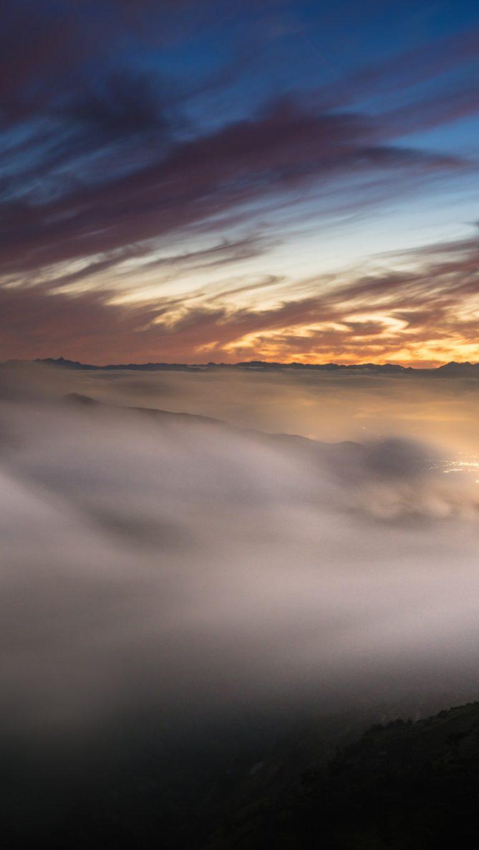 Landscape Fog Nature 8z Wallpaper 1080x1920 768x1365