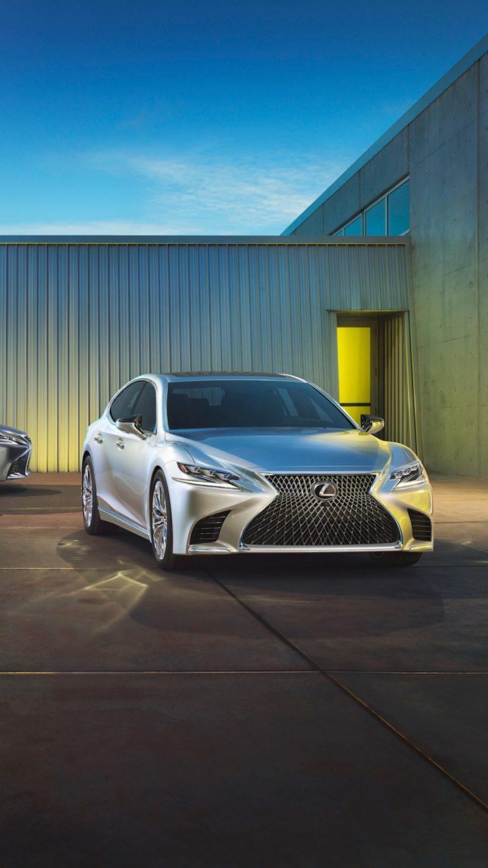 Lexus Ls 500 Qu Wallpaper 1080x1920 768x1365