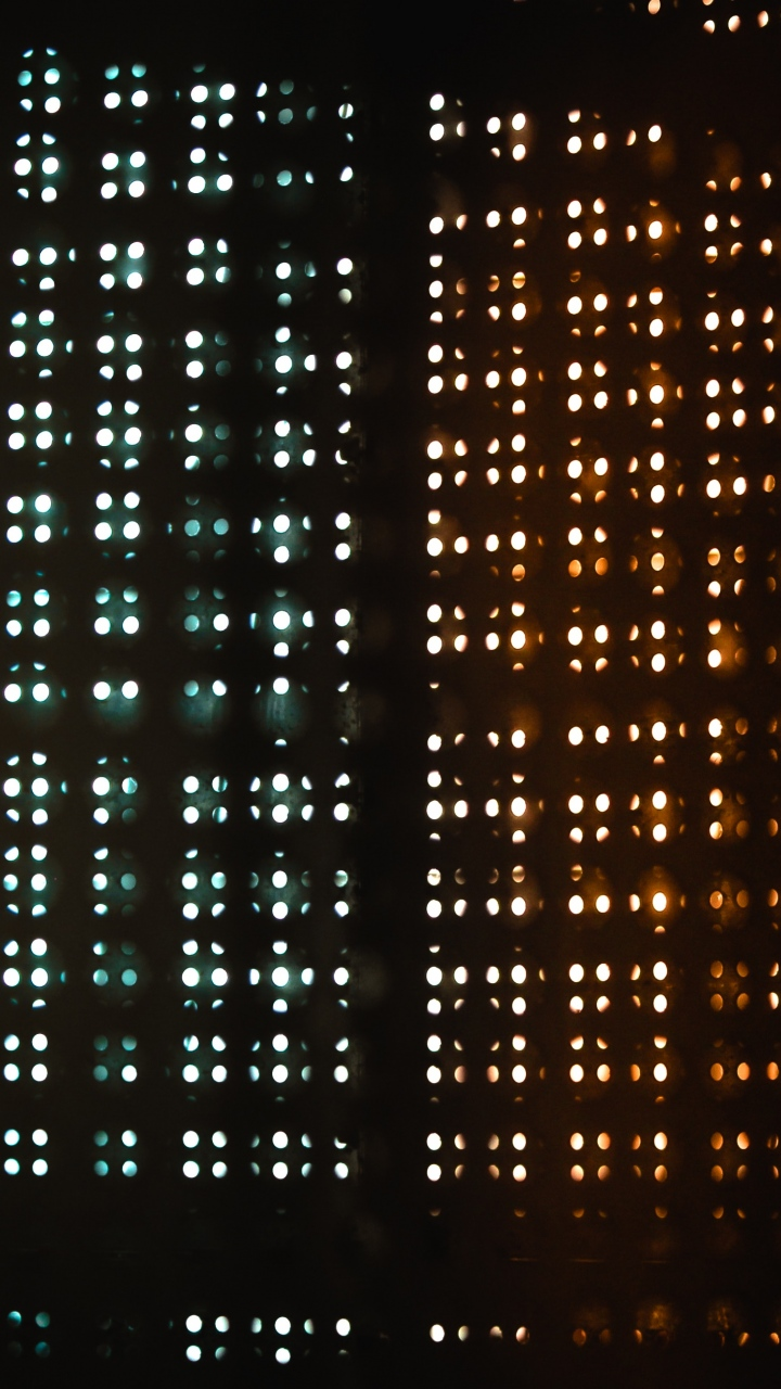 Light Grid Dark Wallpaper 720x1280