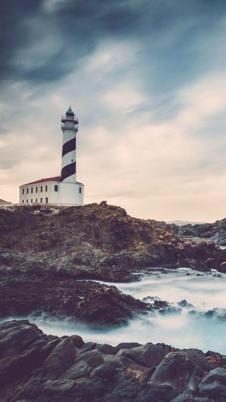Lighthouse Ocean Coast 63 Wallpaper 1080x1920 768x1365