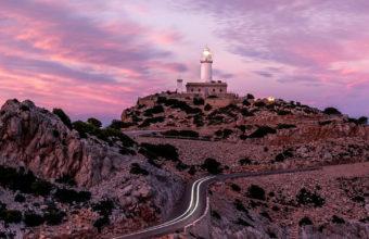 Lighthouse On Hillside Road 41 Wallpaper 720x1280 340x220