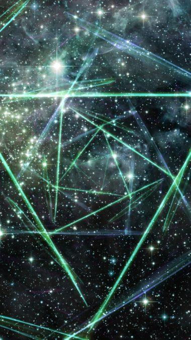 Line Light Sky Stars 380x676