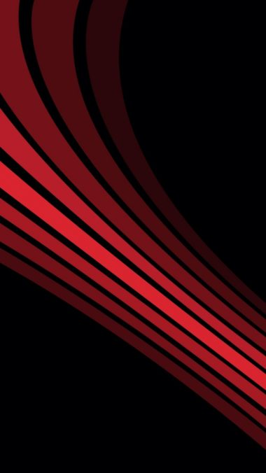 Line Shadow Stripes Shape Black Red 380x676