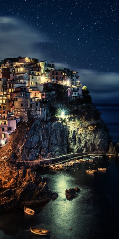 Manarola Wallpaper 1080x2160 380x760
