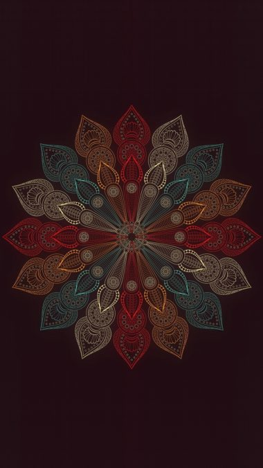 Mandala Flower Wallpaper 1080x1920 380x676