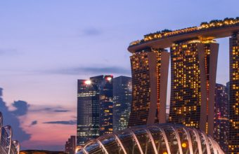 Marina Bay Sands Wallpaper 1080x2160 340x220