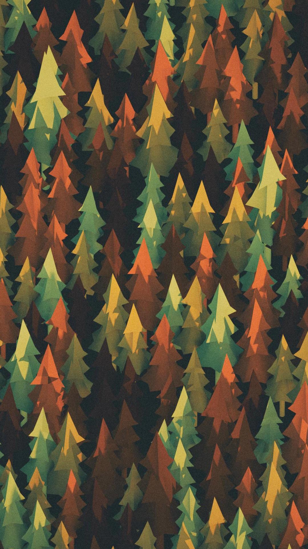 Material Design Forest Lu Wallpaper 1080x1920