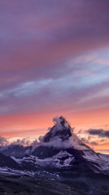 Matterhorn Mountain Do Wallpaper 1080x1920 380x676