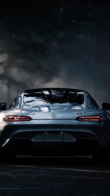 Mercedes Benz Amg Gt S 2016 Rear View  380x676