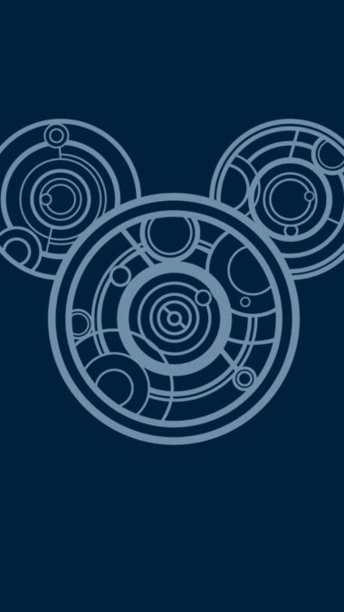Mickey Mouse Minimalism Image Wallpaper 1080x1920 380x676