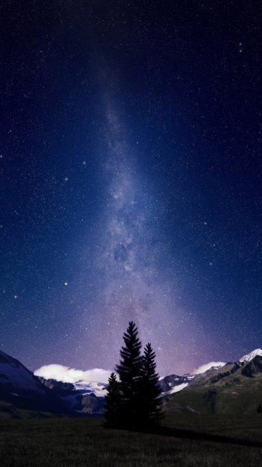 Milky Way August Sky Night 380x676