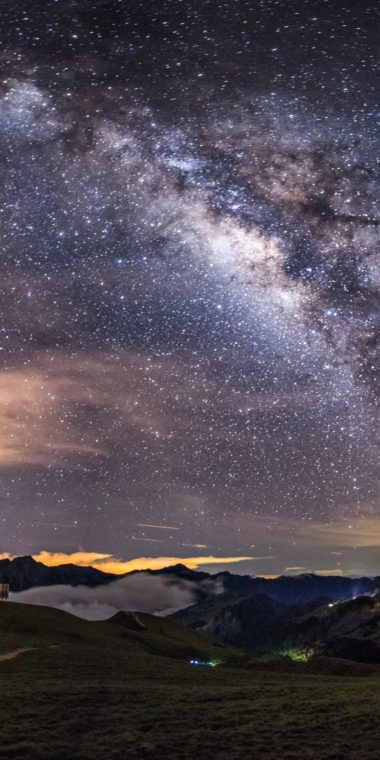 Milky Way Ultra HD Wallpaper 1080x2160 380x760