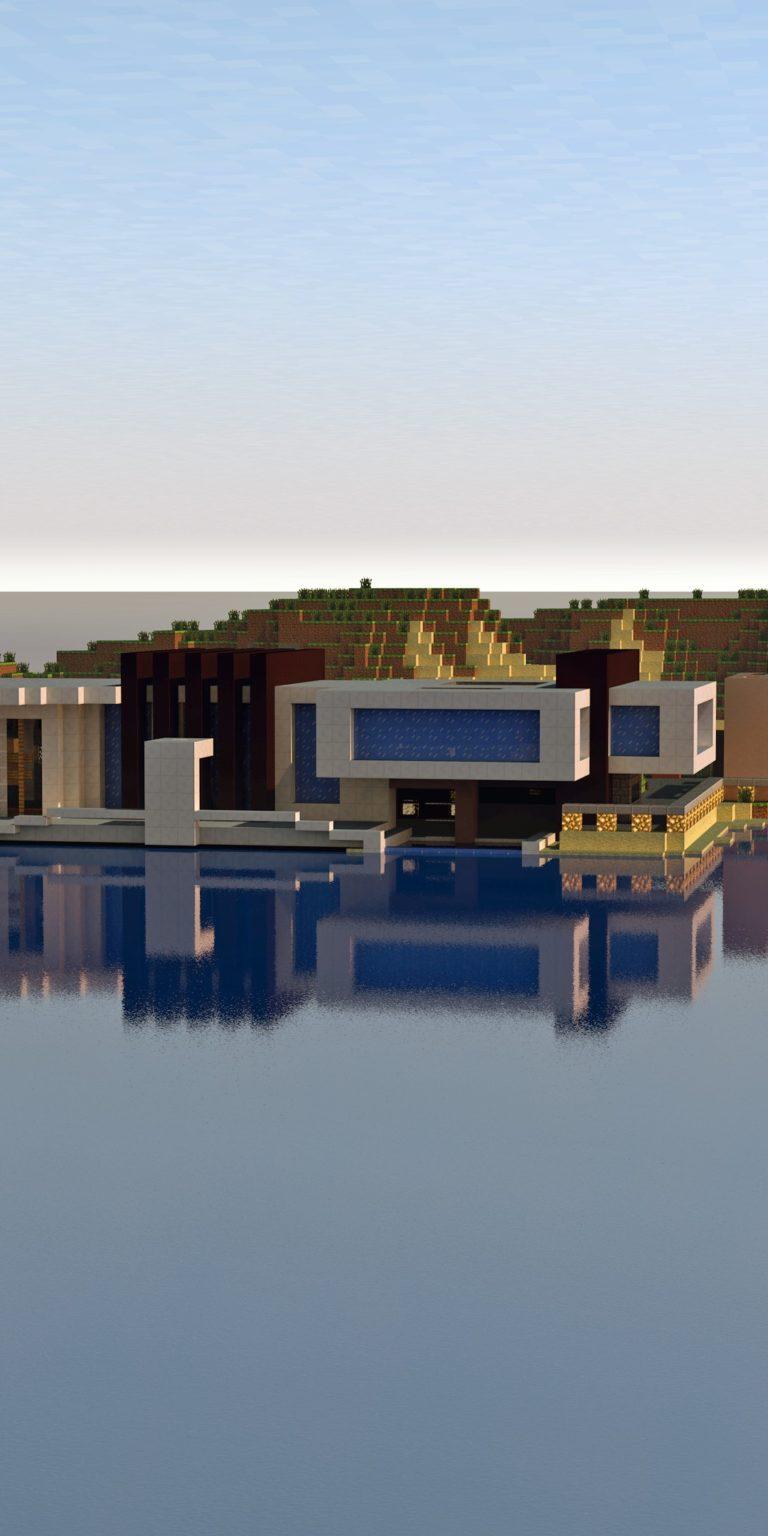 Minecraft Ultra HD Wallpaper 1080x2160 768x1536