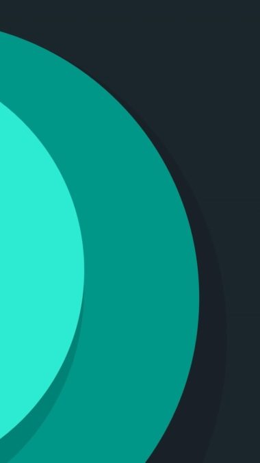 Minimalism Circles Wallpaper 720x1280 380x676