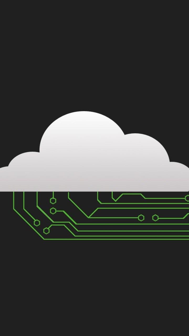 Minimalism Technology Cloud Wallpaper 720x1280