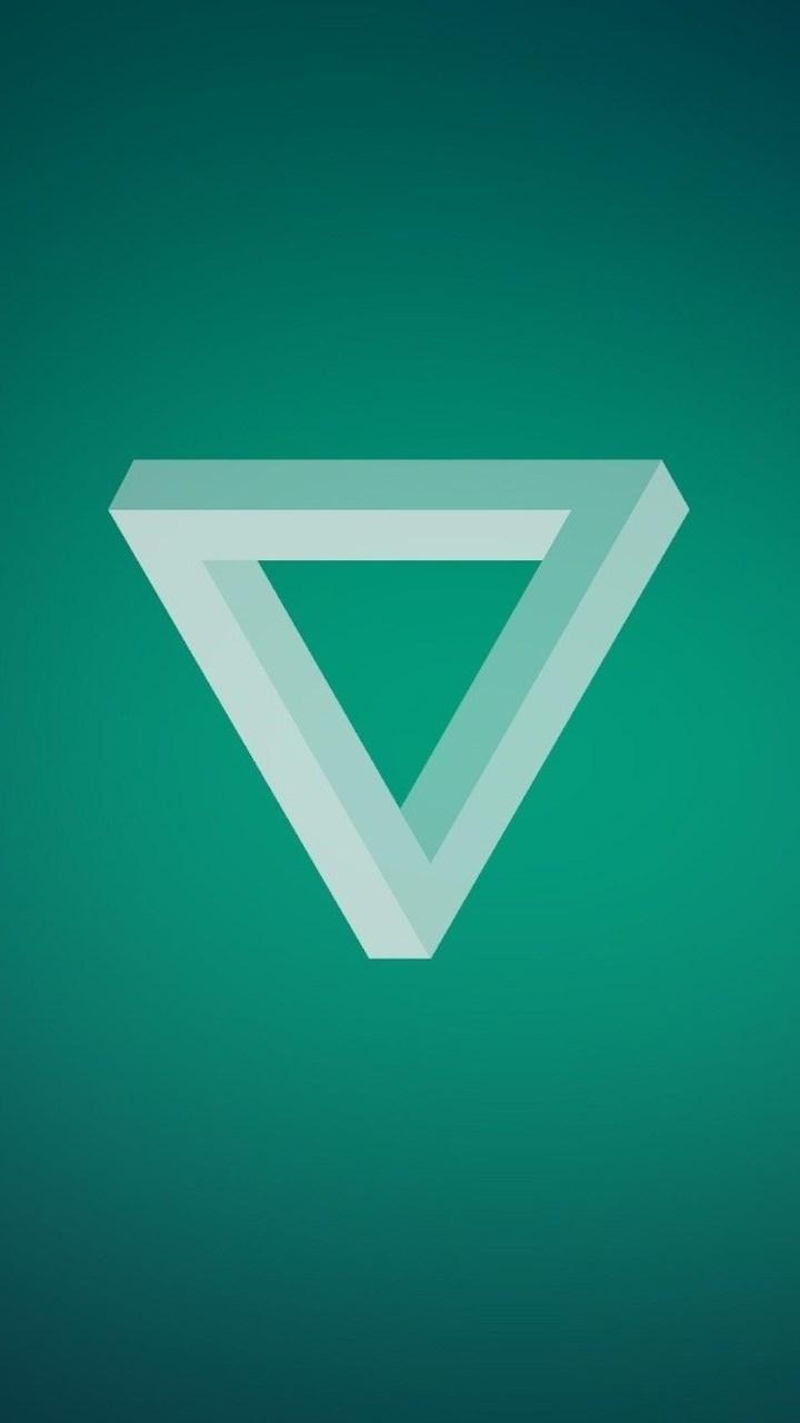 Minimalism Triangle Wallpaper 720x1280