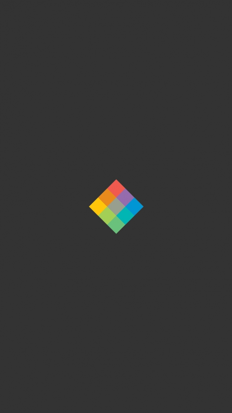 Minimalist Cube Bright Background