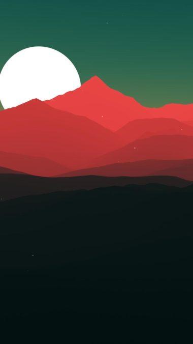 Minimalist Landscape Jt Wallpaper 1080x1920 380x676