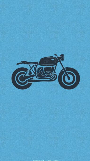 Motorcycle Minimalism Wallpaper 1080x1920 380x676