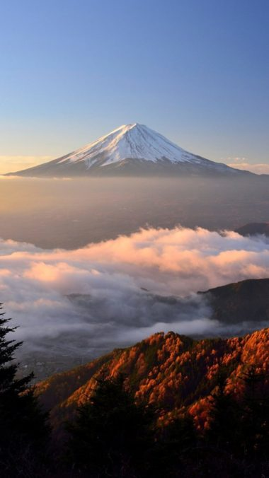 Mount Fuji Hd Qhd Wallpaper 1080x1920 380x676