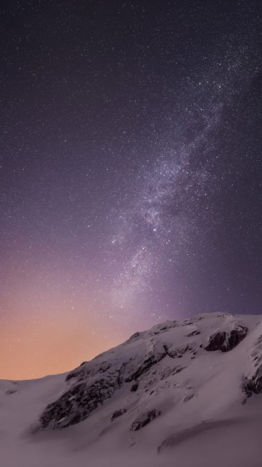 Mountains And Stars Vv Wallpaper 1080x1920 380x676