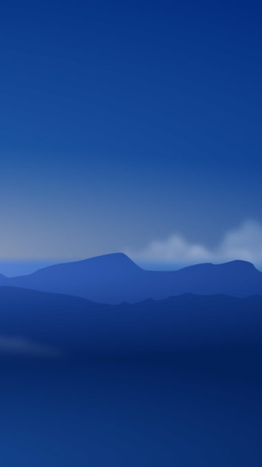 Mountains Minimalism L2 Wallpaper 1080x1920 380x676