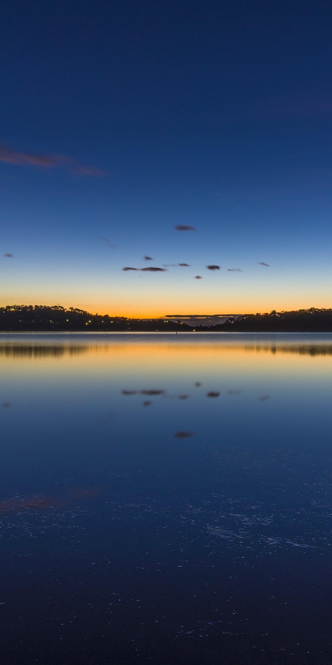 Nature Lake Sunset Landscape Ultrahd Ultra HD Wallpaper