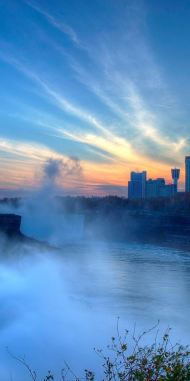 Niagara Falls Ultra HD Wallpaper 1080x2160 380x760