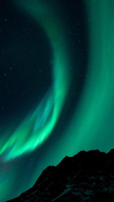 Northern Lights Night Sky 380x676