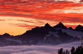 Oregon State Mountains Wallpaper 720x1280 340x220