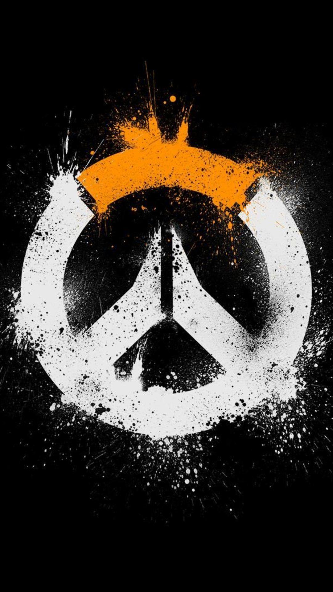 Overwatch Logo Hd Pic Wallpaper 1080x1920