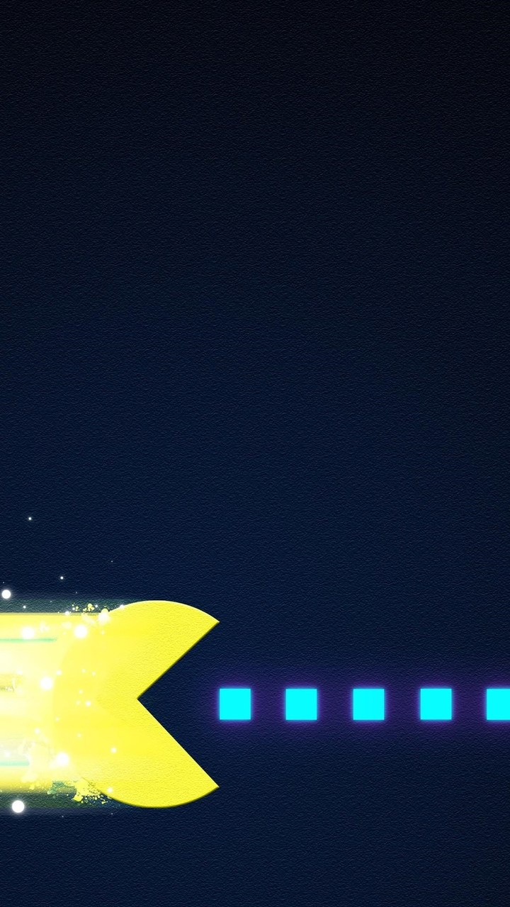 Pacman Art Wallpaper 720x1280