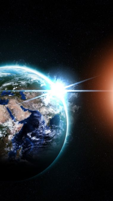 Planet Meteor Asteroid Comet Blast Space 380x676