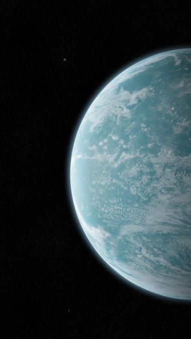 Planet Space Shadow Stars 380x676