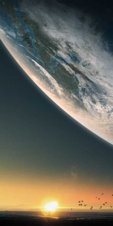 Planet Ultra HD Wallpaper 1080x2160 380x760