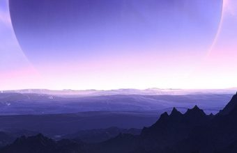Planets Mountains Sea Sky Artwork Wh Wallpaper 2160x3840 340x220